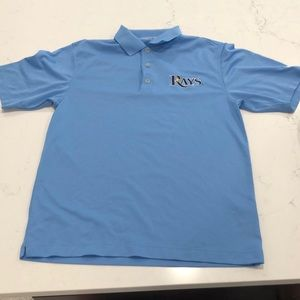 Nike golf Tampa bay rays polo men's small rare